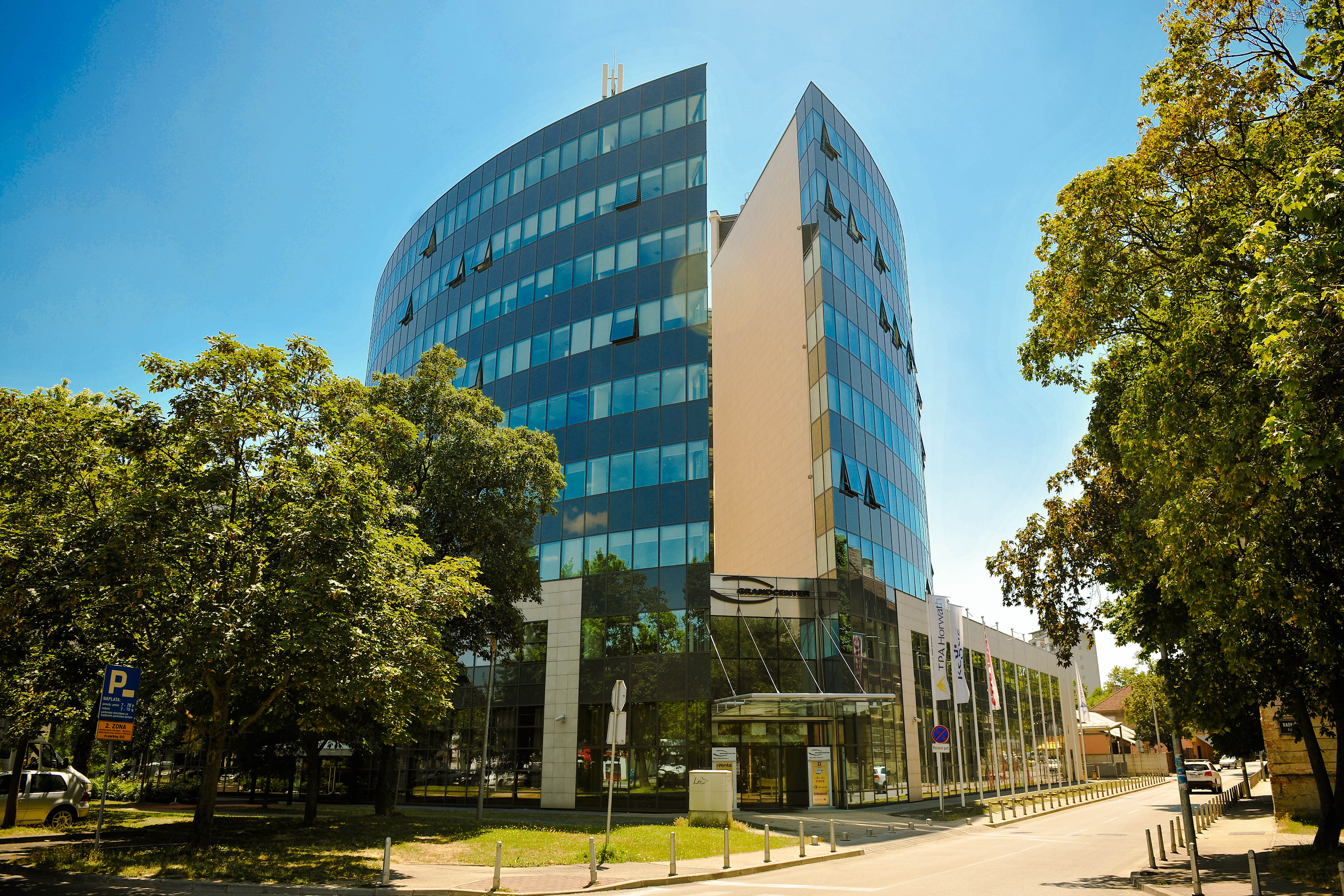 Offices In The New Business District Zagreb Immofinanz Ag