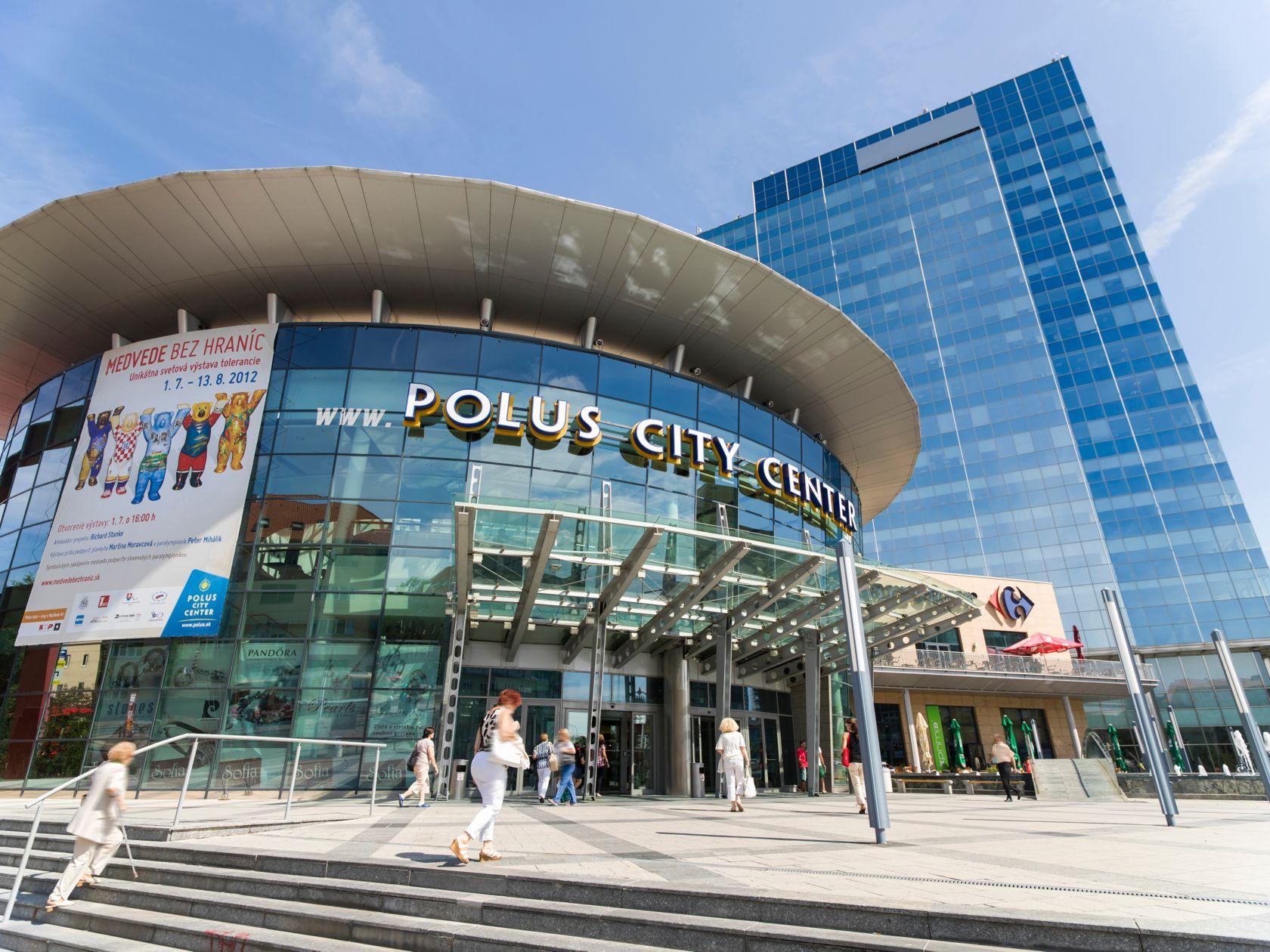 17d001f32 Polus City Center – Ihr Einkaufszentrum in Bratislava ...